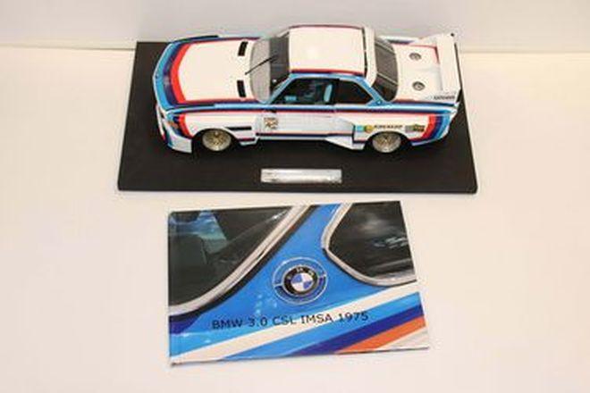 Model Car - 1975 BMW 3.0 CSL IMSA (1:12 Scale)