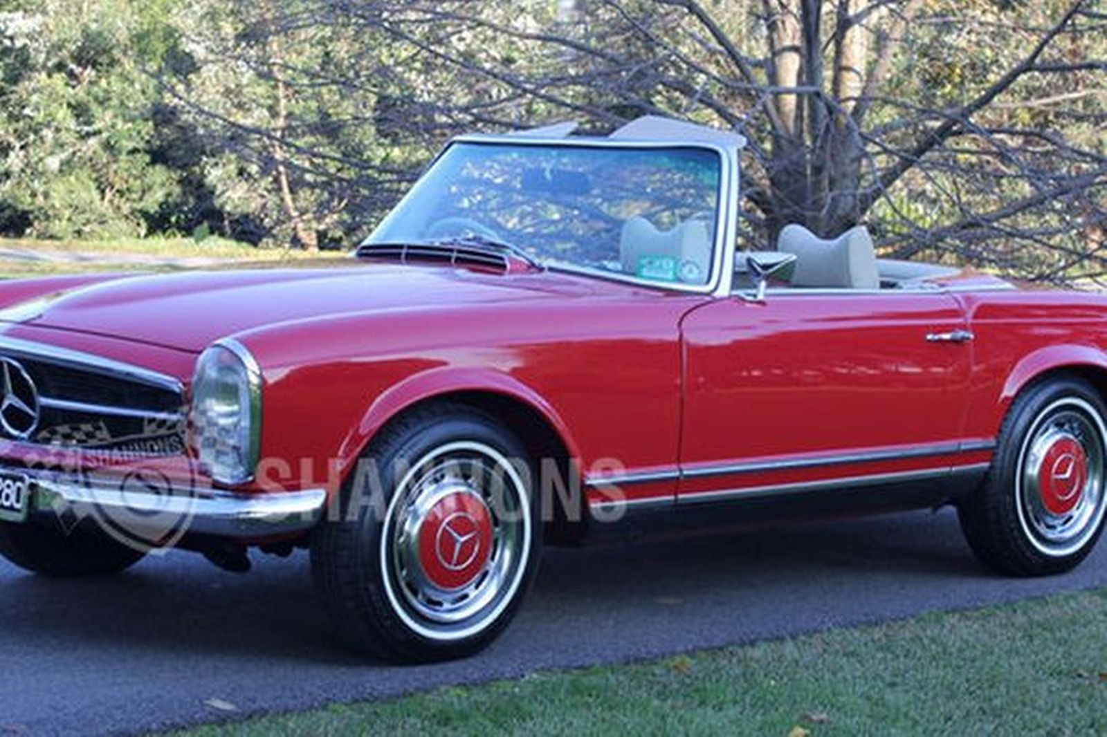 Sold Mercedes Benz 280sl Convertible Auctions Lot 51
