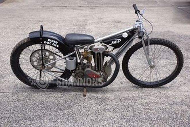 J.A.P Speedway 500cc Motorcycle