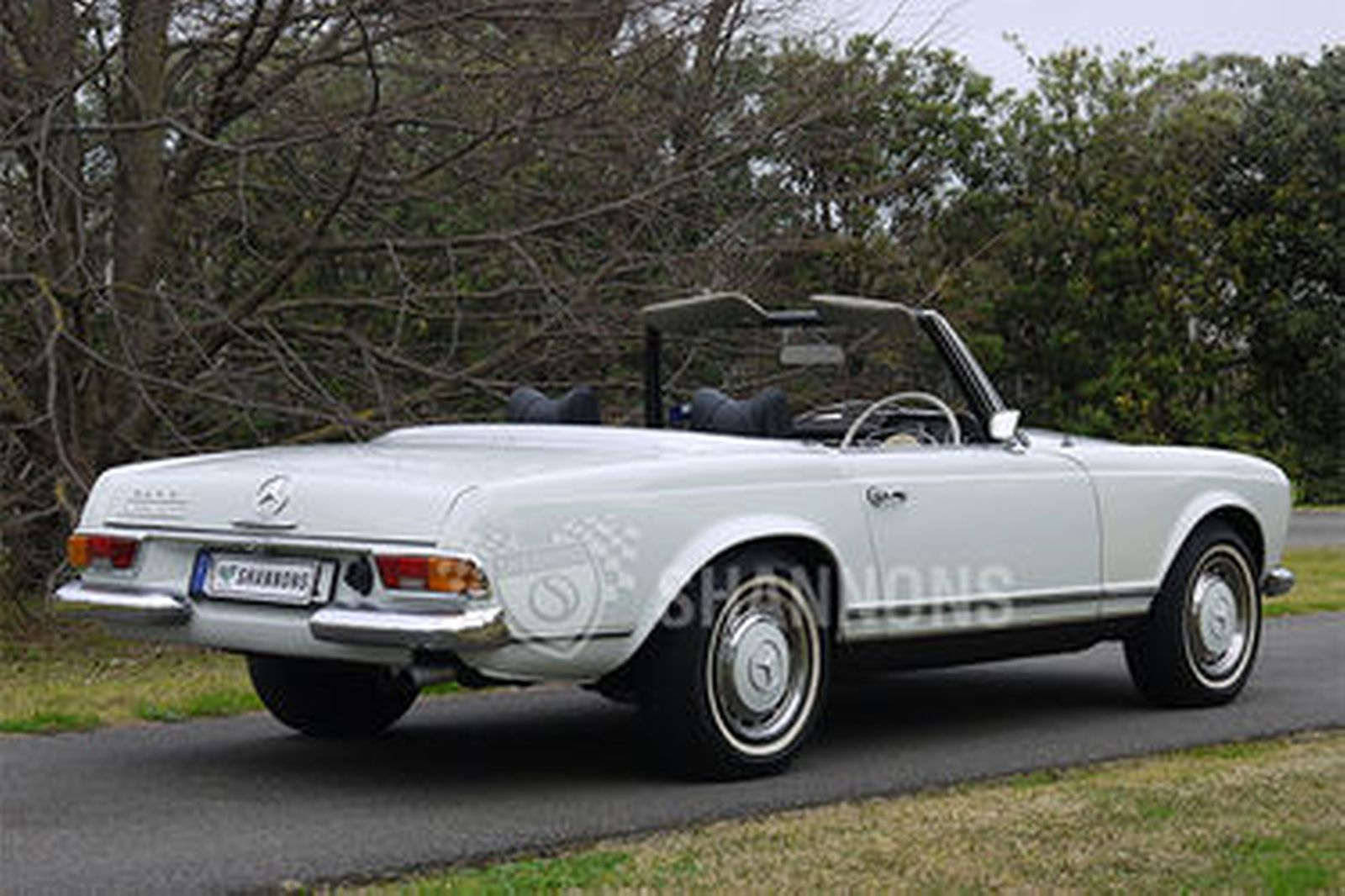 Sold: Mercedes-Benz 280SL Convertible Auctions - Lot 18 ...