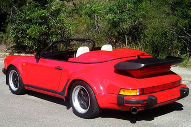 Porsche 911 Wide Body Speedster