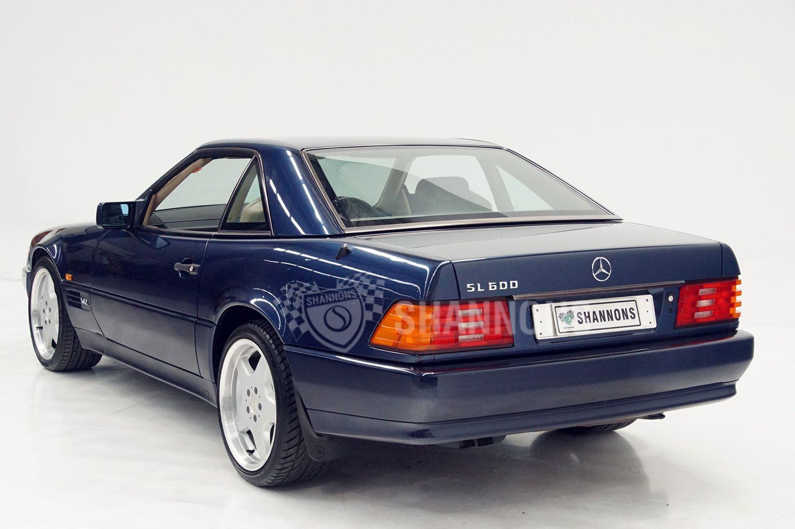 Mercedes-Benz SL600 Convertible