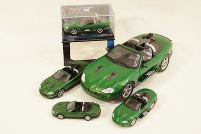 Model Cars x 5  - Jaguar XKR 007 James Bond 'Die Another Day' models