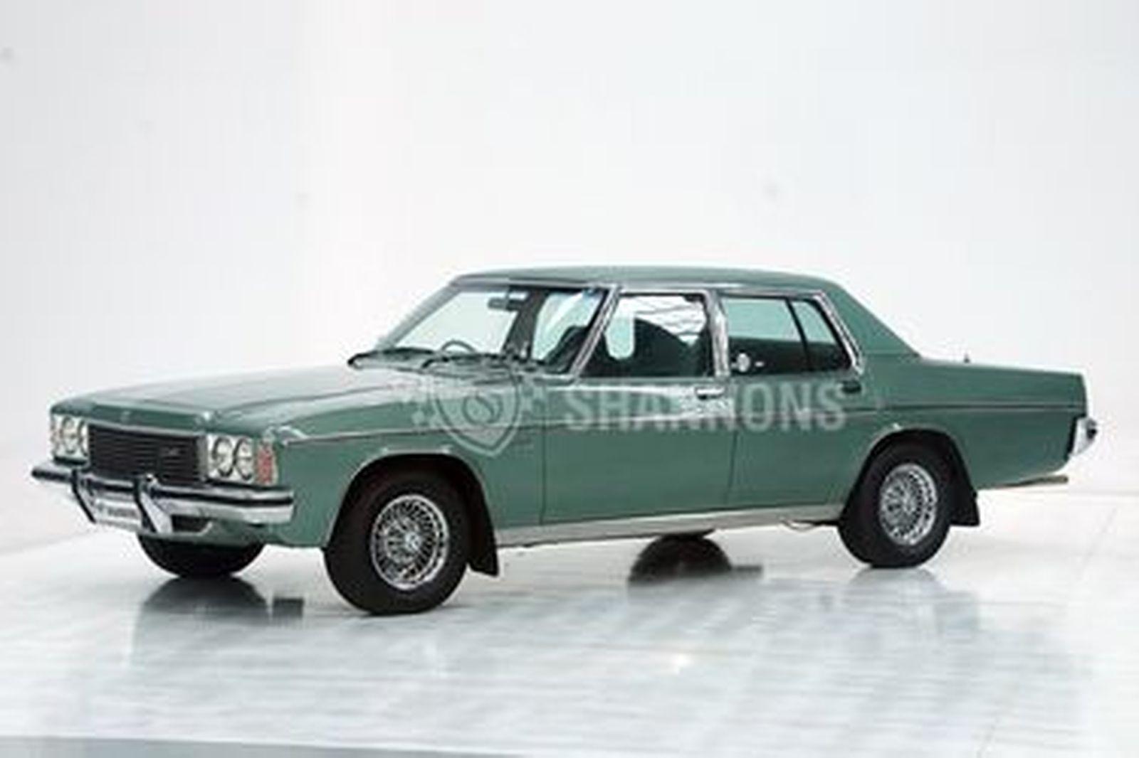 Holden HZ Statesman DeVille Sedan