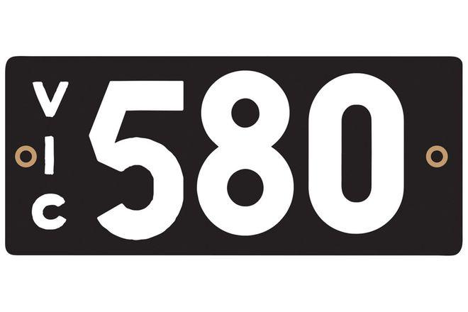 Victorian Heritage Plate 580