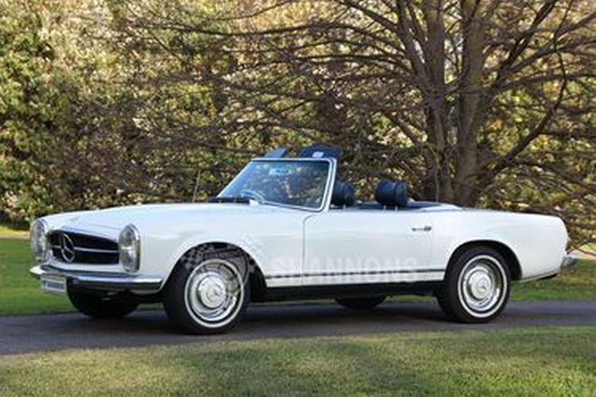 Mercedes-Benz 230SL Convertible
