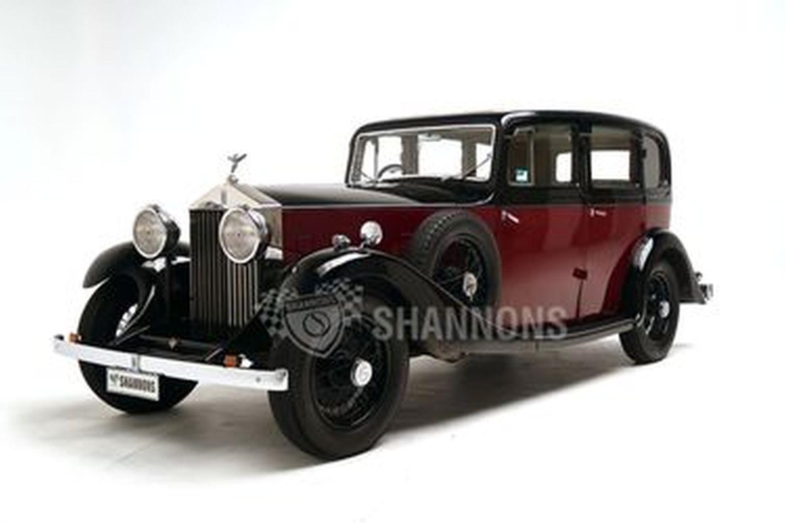 Rolls-Royce 20/25 HP Mulliner Saloon