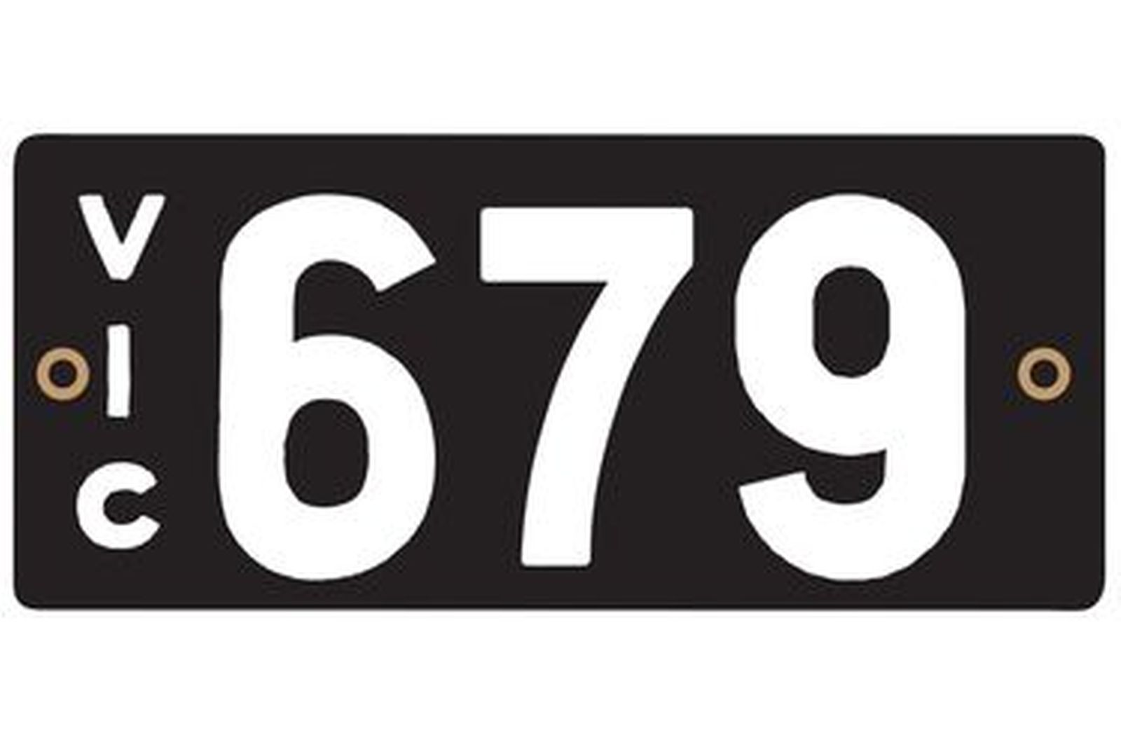 Victorian Heritage Plate '679'