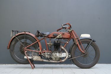 AJS Model G 350cc Motorcycle