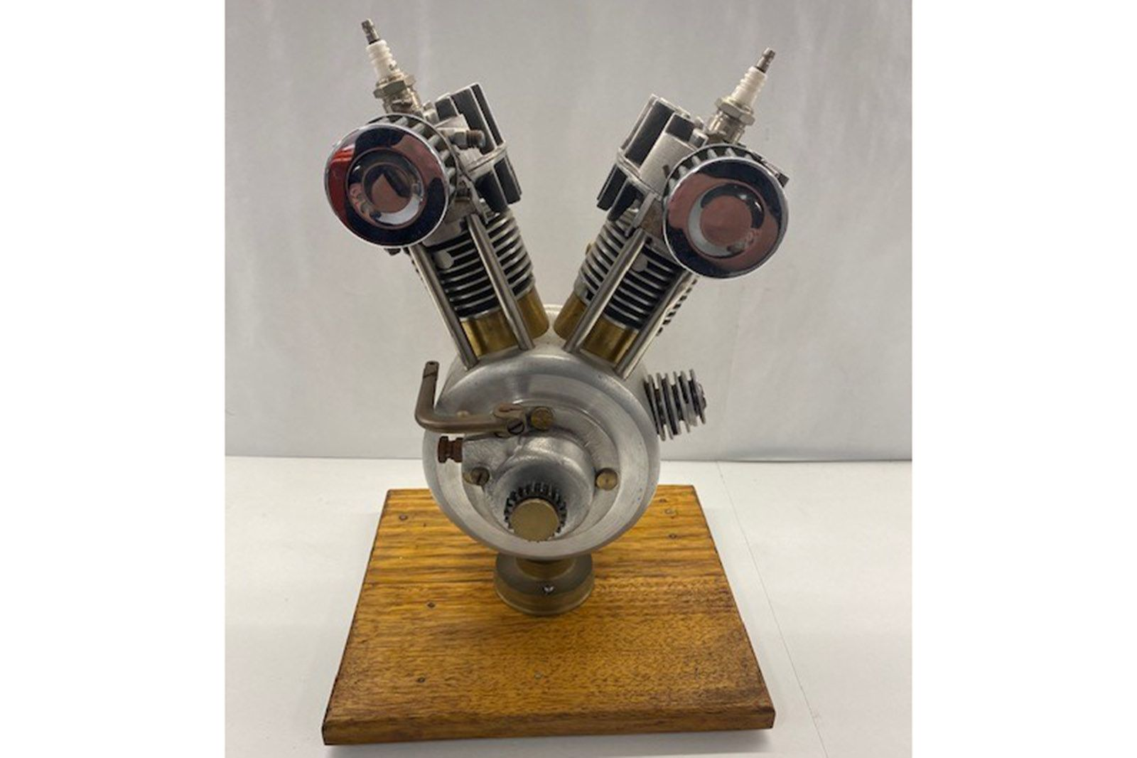 Model V Twin Engine ( desk ornament)