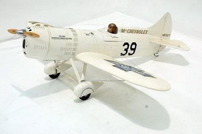 Model Plane - c1930's DGA-5  (IKE)   (2m wing span)