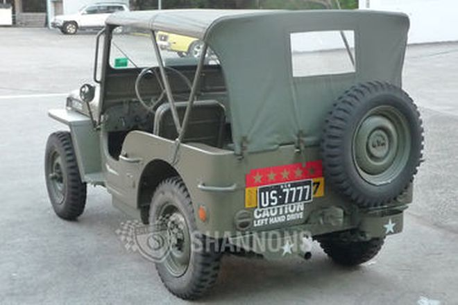 Willys Jeep Utility (LHD)