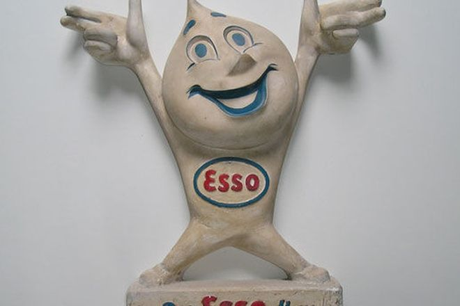 Statue - Esso Oil Drip Man (60cm high)
