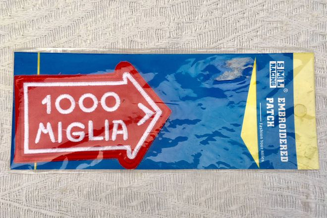 Lapel Badge - Mille Miglia 1000 - from the Historic Italian Road Race