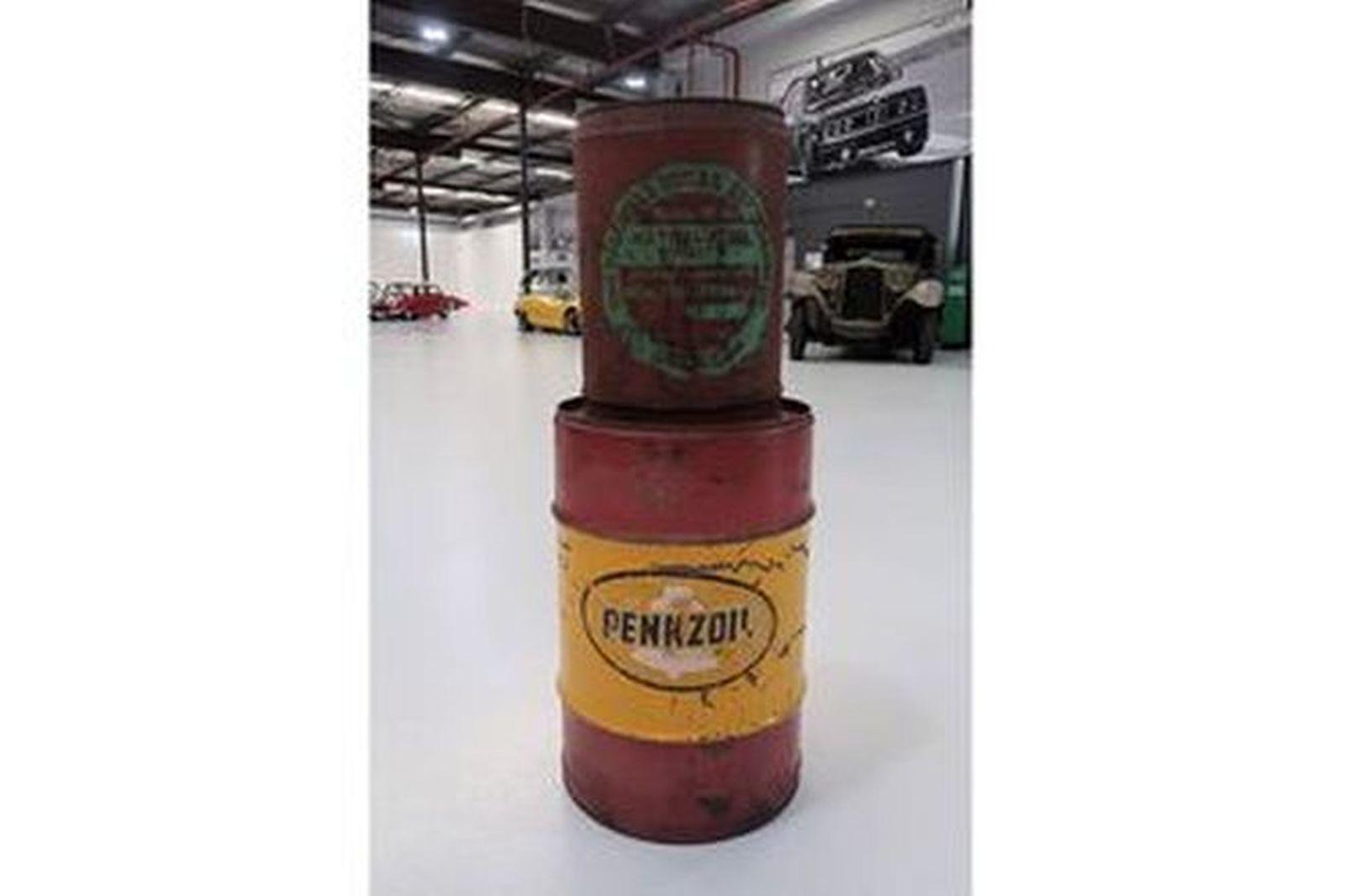 Drums x 2 - CSR Metholated Spirit & Pennzoil 20 litre