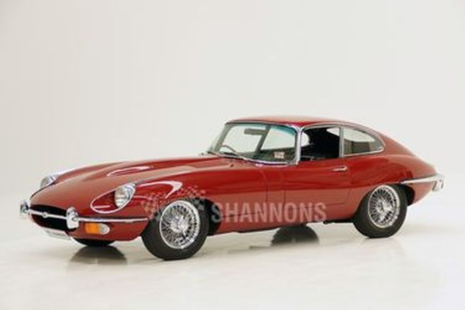 Jaguar E-Type 4.2 Series 2 Fixed Head Coupe