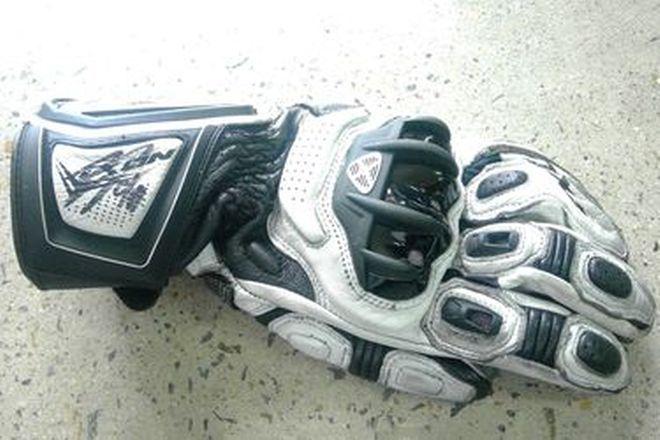 Jonas Folger #94 Signed Glove LH