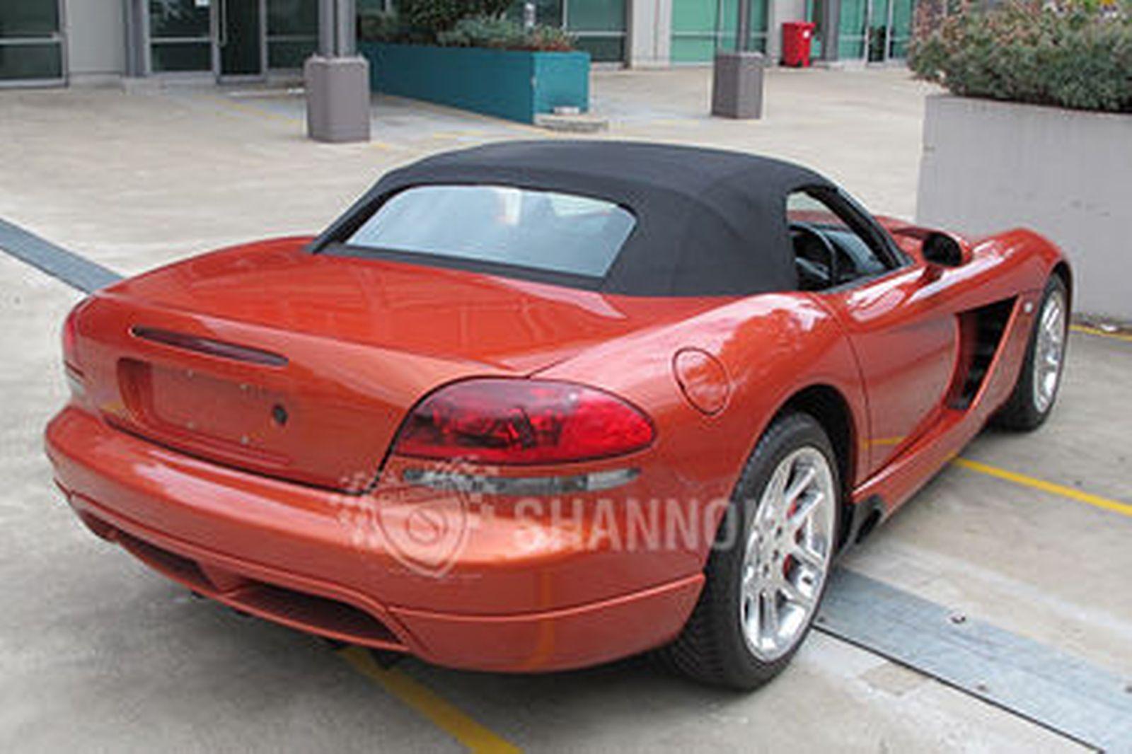 dodge viper srt 10 copperhead convertible rhd auctions. Black Bedroom Furniture Sets. Home Design Ideas