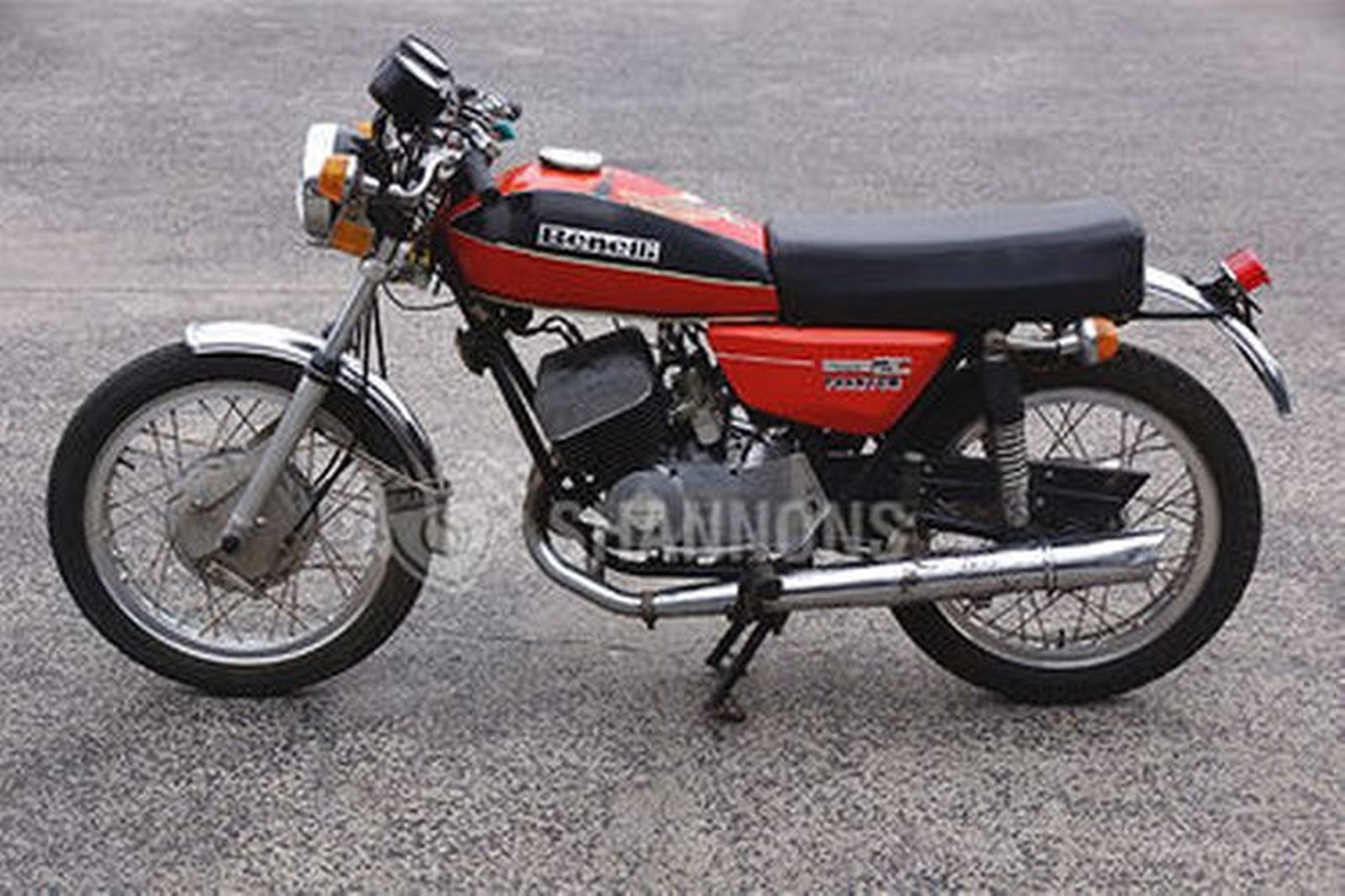 Sold: Benelli 250 Twin 2C 'Phantom' Motorcycle Auctions