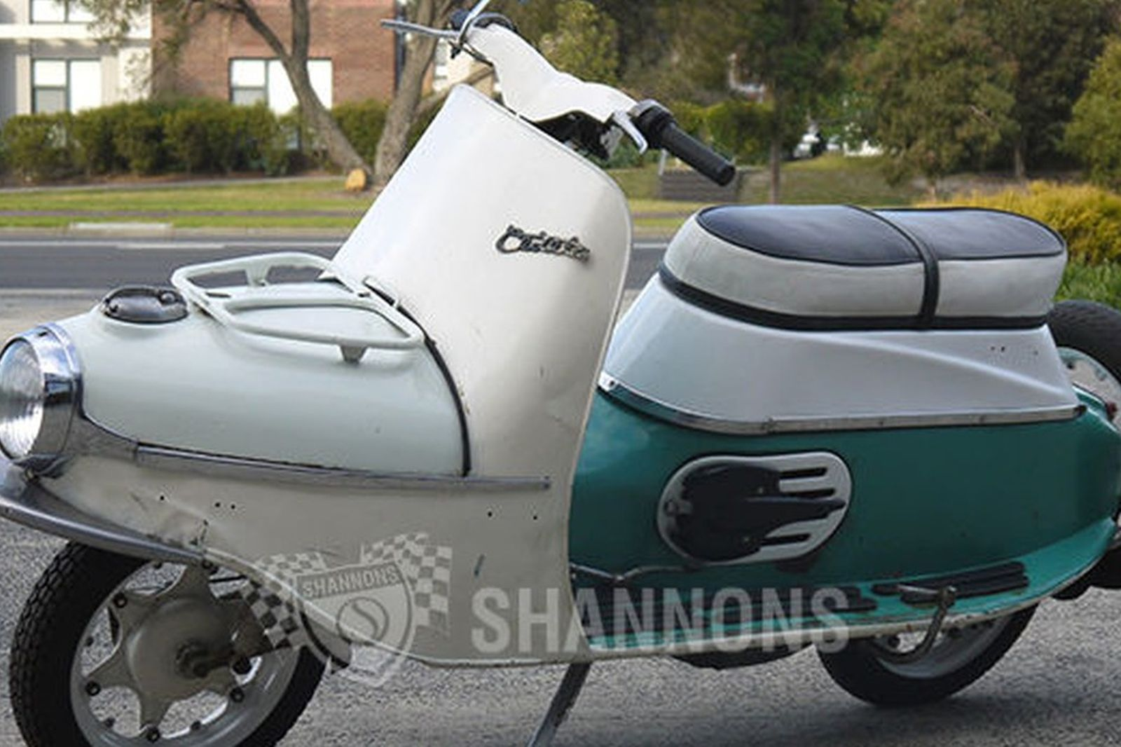 Sold cezeta 172cc type 502 motorscooter auctions lot 6 for Motor vehicle open on saturday