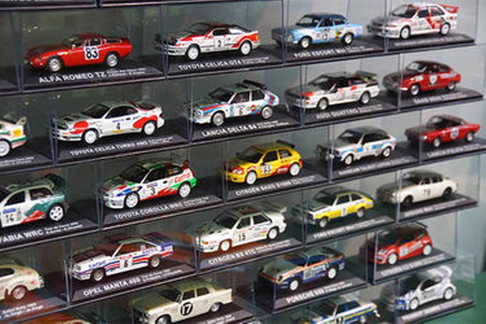 Sold: Model Cars & Magazines - 70 x Rally Cars by De Agostini (Scale ...
