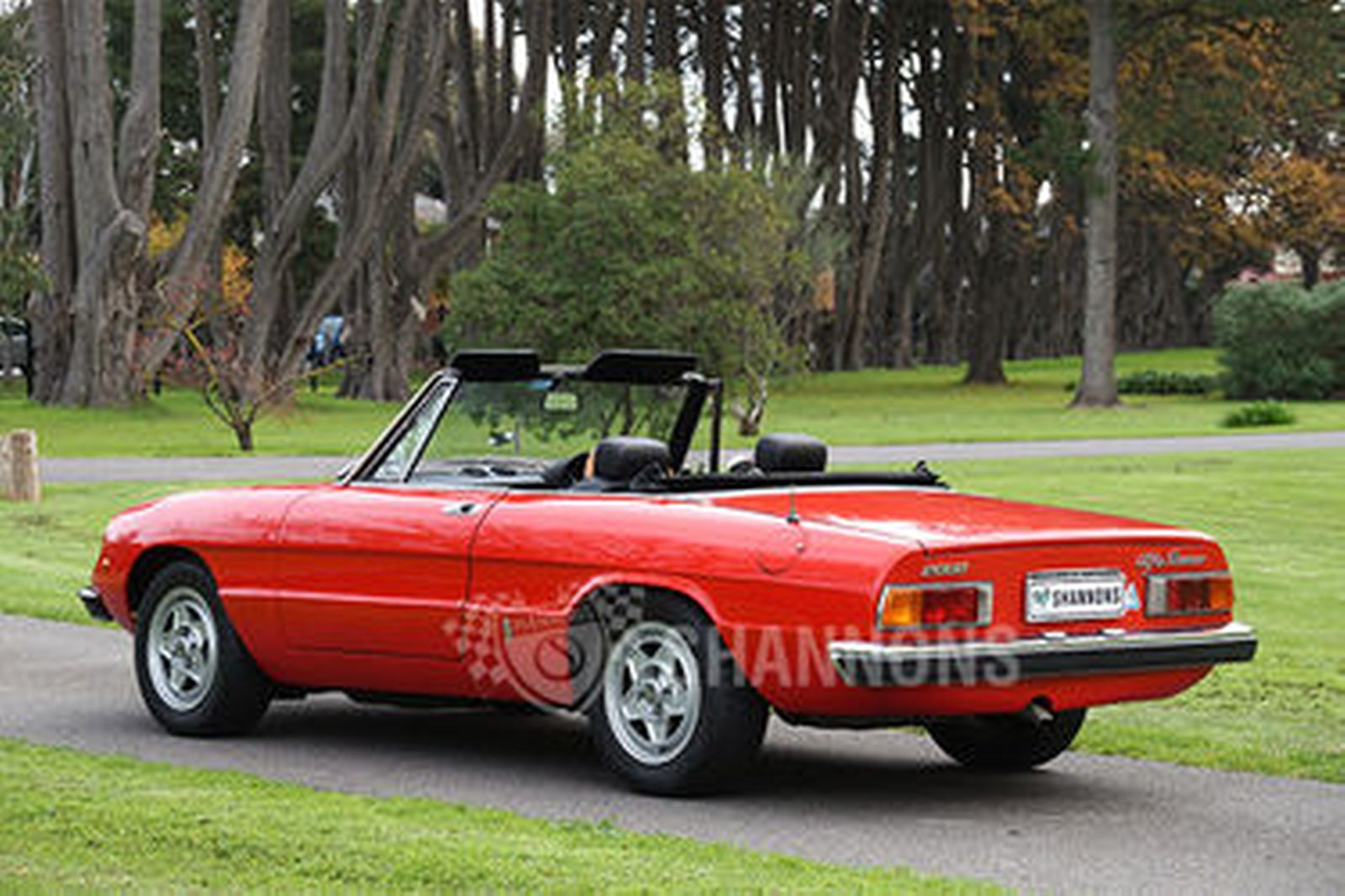 Sold Alfa Romeo 2000 Spider Auctions Lot 9 Shannons