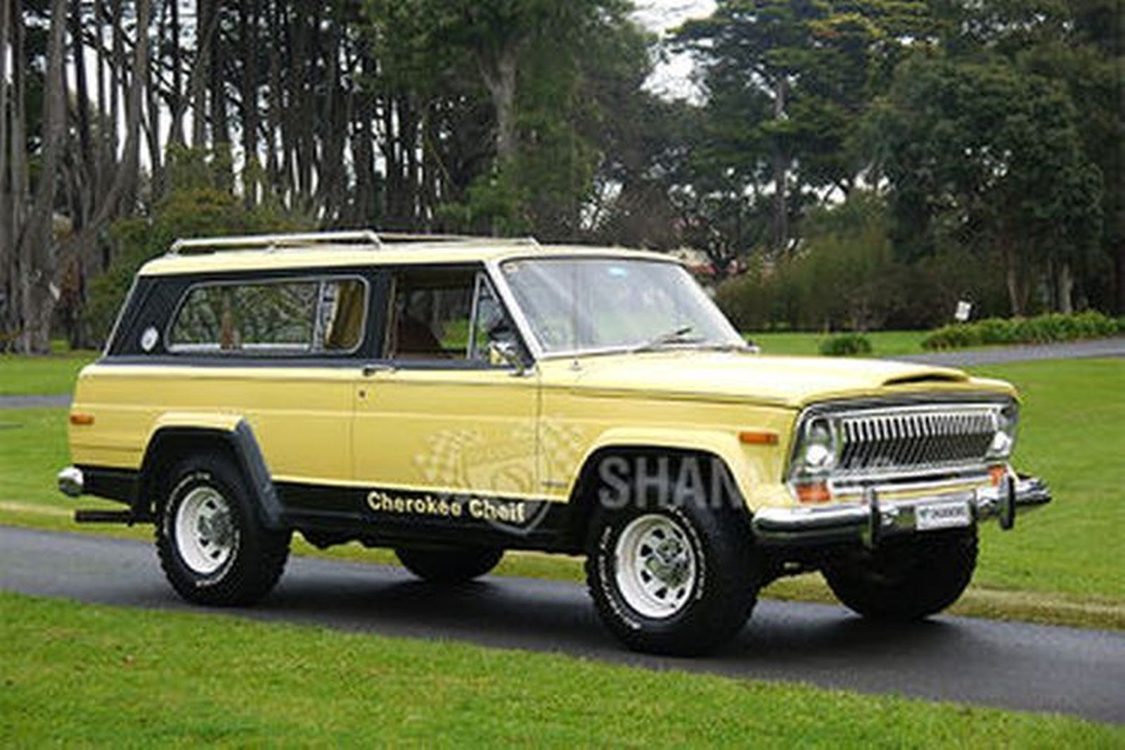 Sold: Jeep Cherokee Chief Wagon (RHD) Auctions - Lot 22 ...
