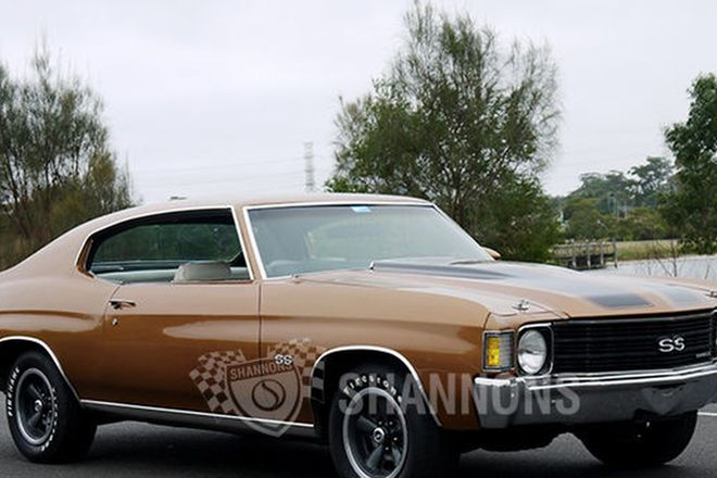 Chevrolet Chevelle SS 402ci V8 Coupe (LHD)