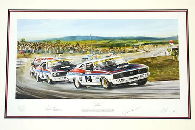 Framed Signed Print - 'Ford Supremacy'