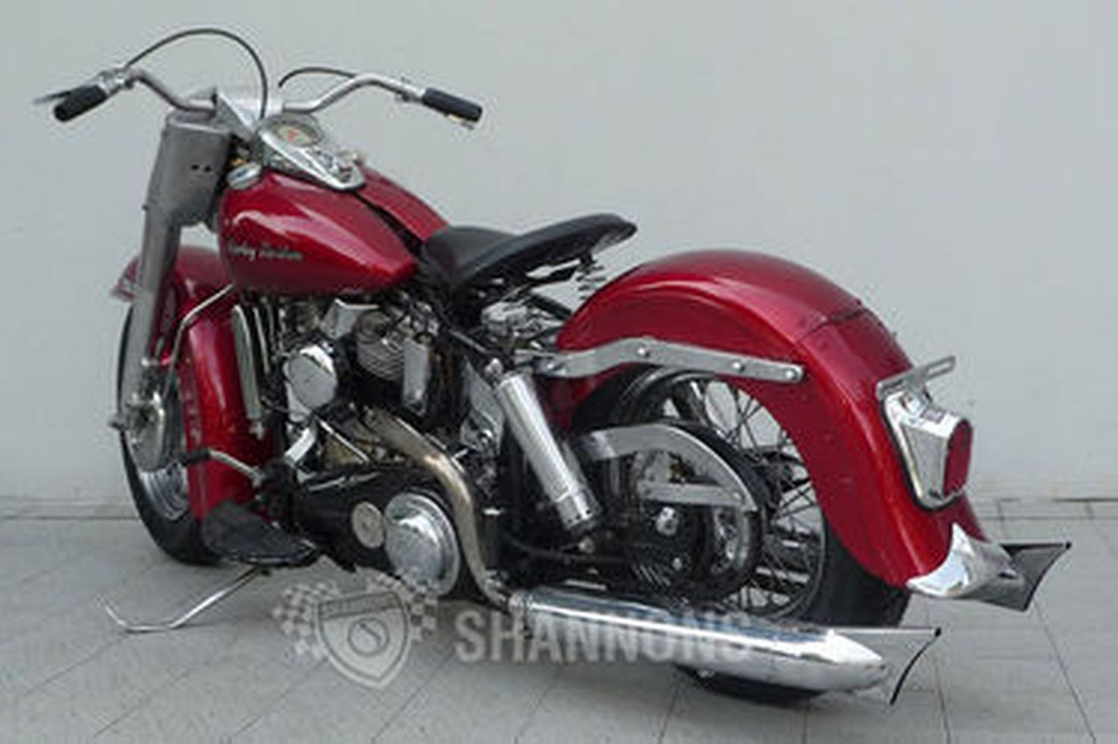 harley-davidson flh duo glide motorcycle auctions