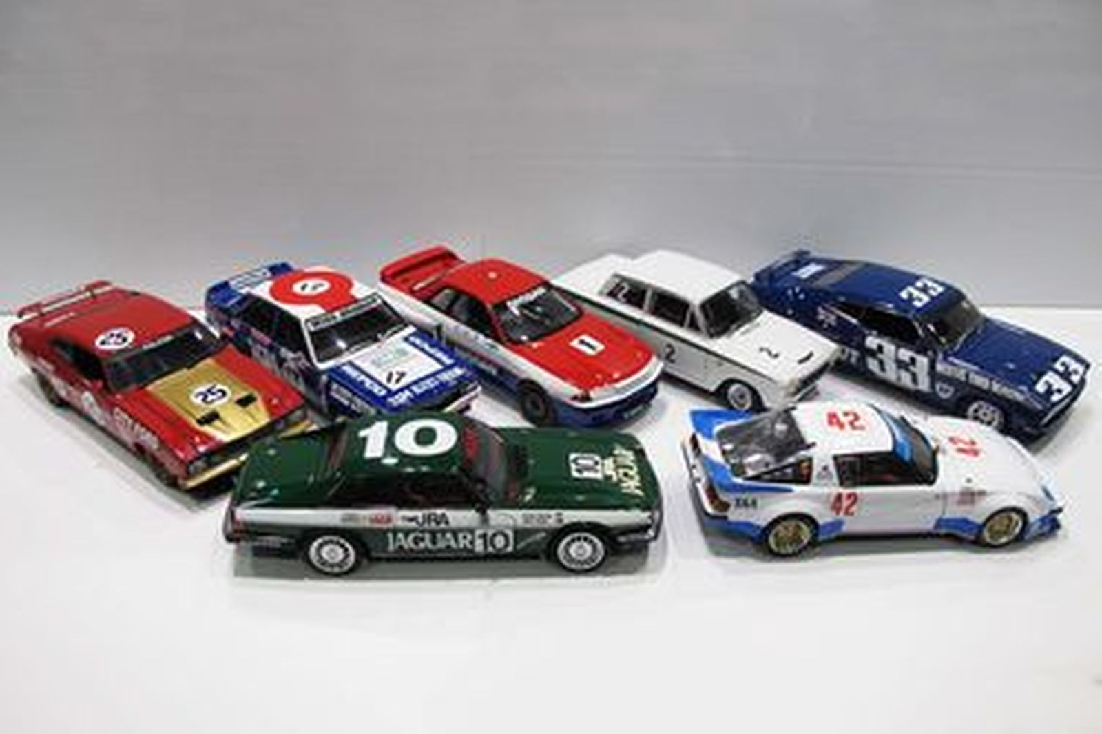 Model Cars x 7 - AutoArt & Biante: Group C & Touring Cars (Scale 1:18)
