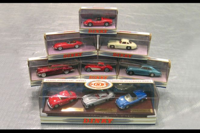 9 x Dinky Models in boxes - (1:43 Scale)