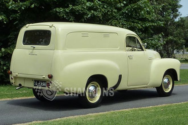 Holden FJ 'Windowless' Panel Van