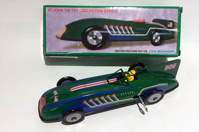 Model Tin Cars Schylling Collector Series Qty 4