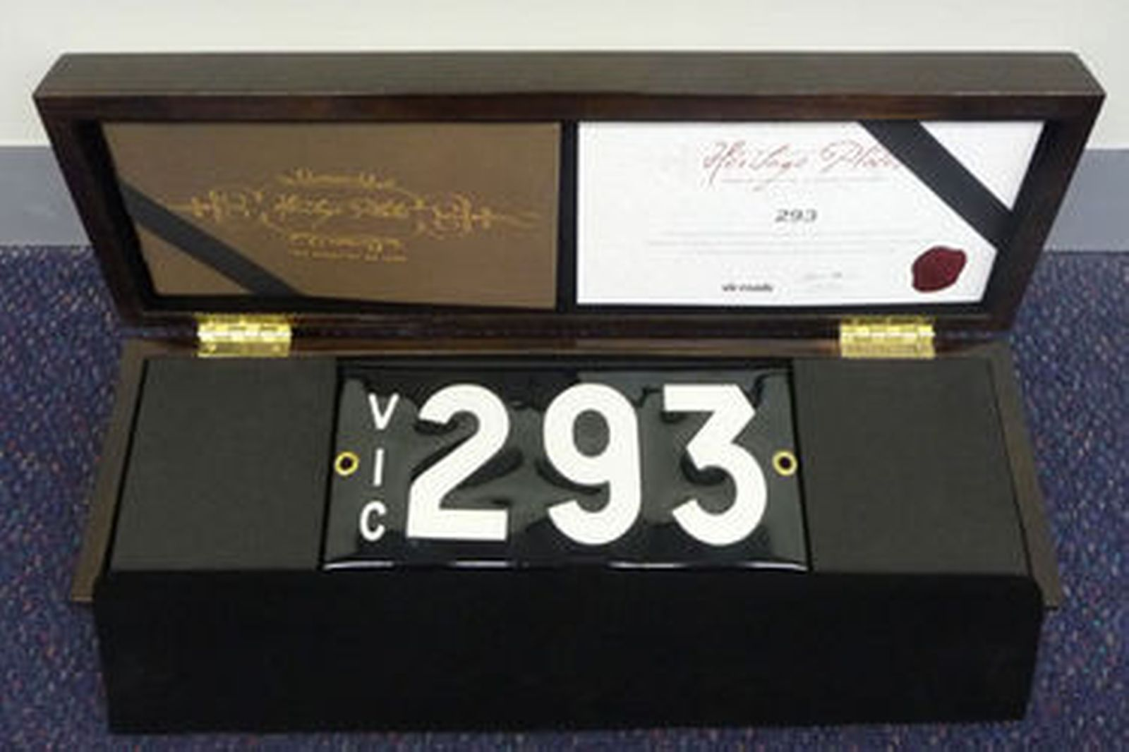 Sold: Number Plates - Victorian Numerical Plates - '293' Auctions - Lot Y -  Shannons