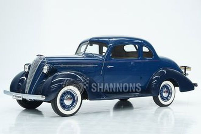 Hudson Terraplane Business Coupe (LHD)