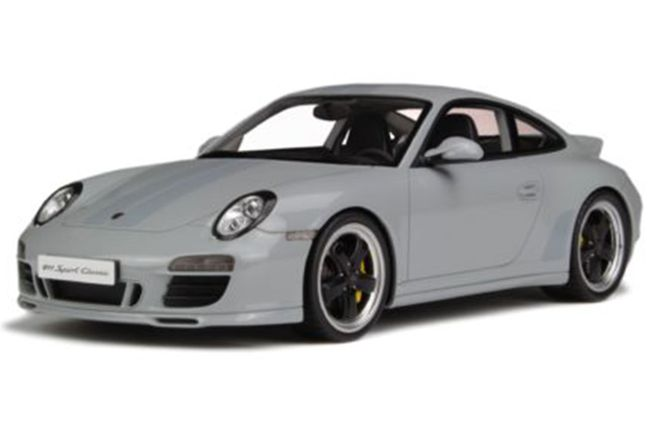 Model Car - Porsche GT145 RUF Turbo Limited Grey - GT Spirit  (Scale -1:18)