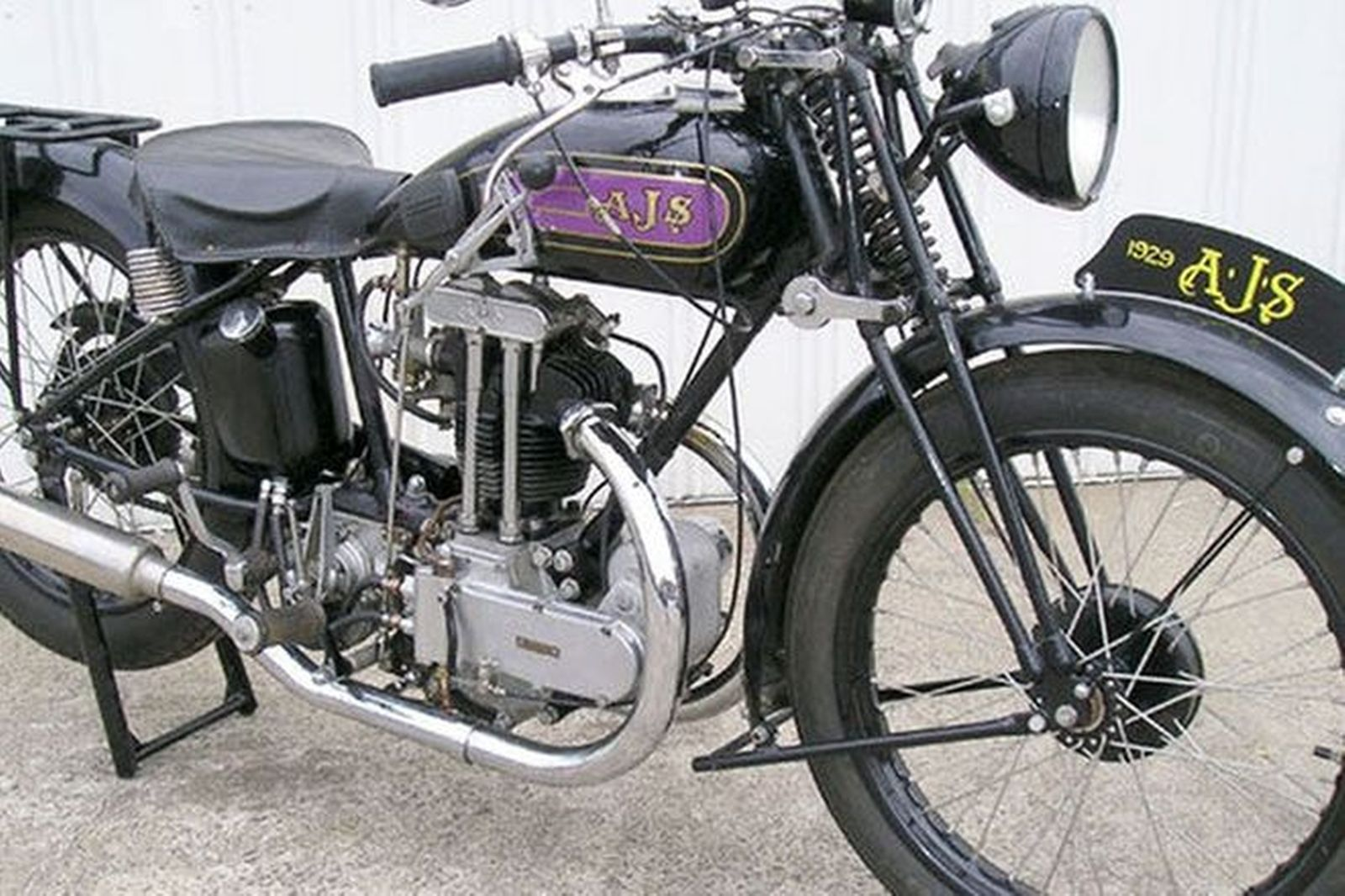 AJS 350cc 'Purple Tank' Motorcycle