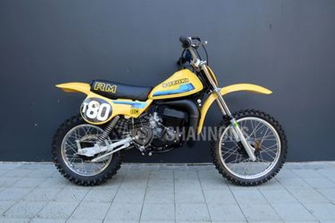 Suzuki RM80T Motorcycle