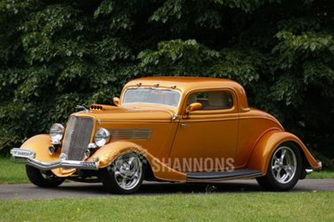 Ford 3-Window 'Hot Rod' Coupe (RHD)