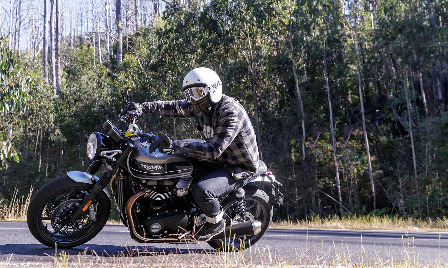 Triumph Speed Twin Power And The Glory Shannons Club