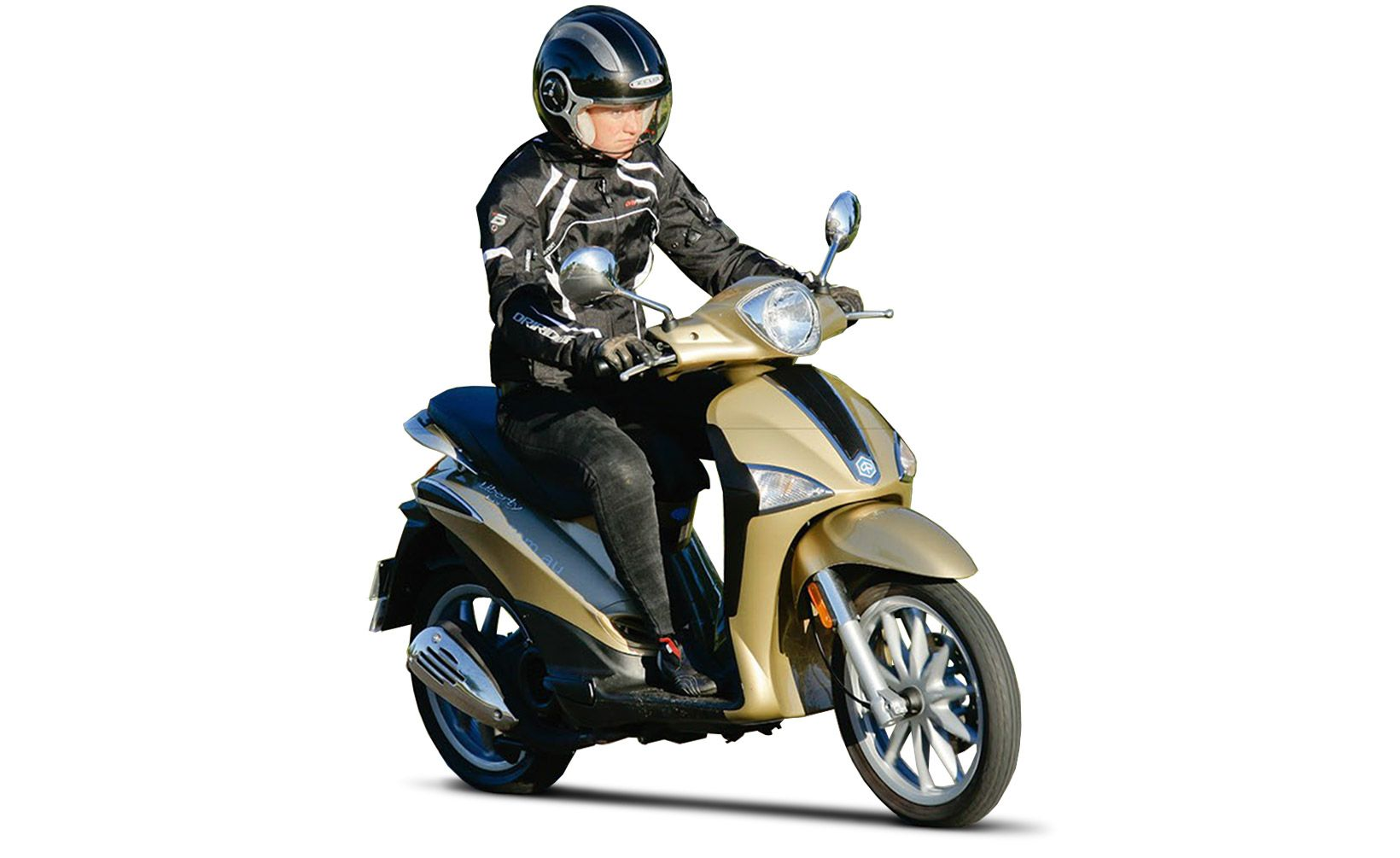 quikspin: piaggio liberty 150ie - freedom maker - shannons club