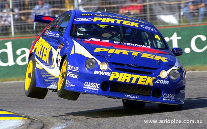 2001 Ford Falcon V8 Supercar: Ford AU Falcon: The Wing-shaped Supercar That Struggled To