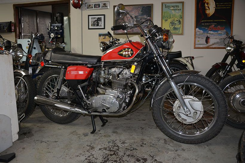 Considering that the BSA/Triumph Group was hardly in