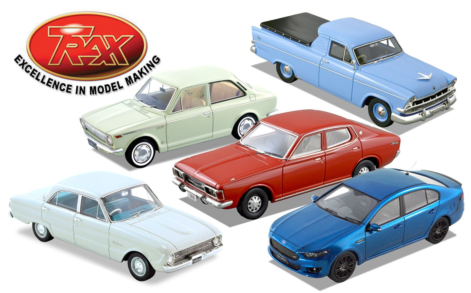 First and Last Falcon Boxed Set, Plus Toyota, Datsun and Chrysler ...