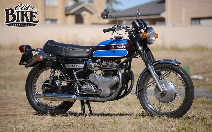 Old Bike Australasia Kawasaki W12 650 Shannons Club