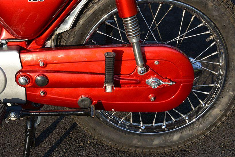 Old Bike Australasia Little Ripper 1971 Honda Cb125s