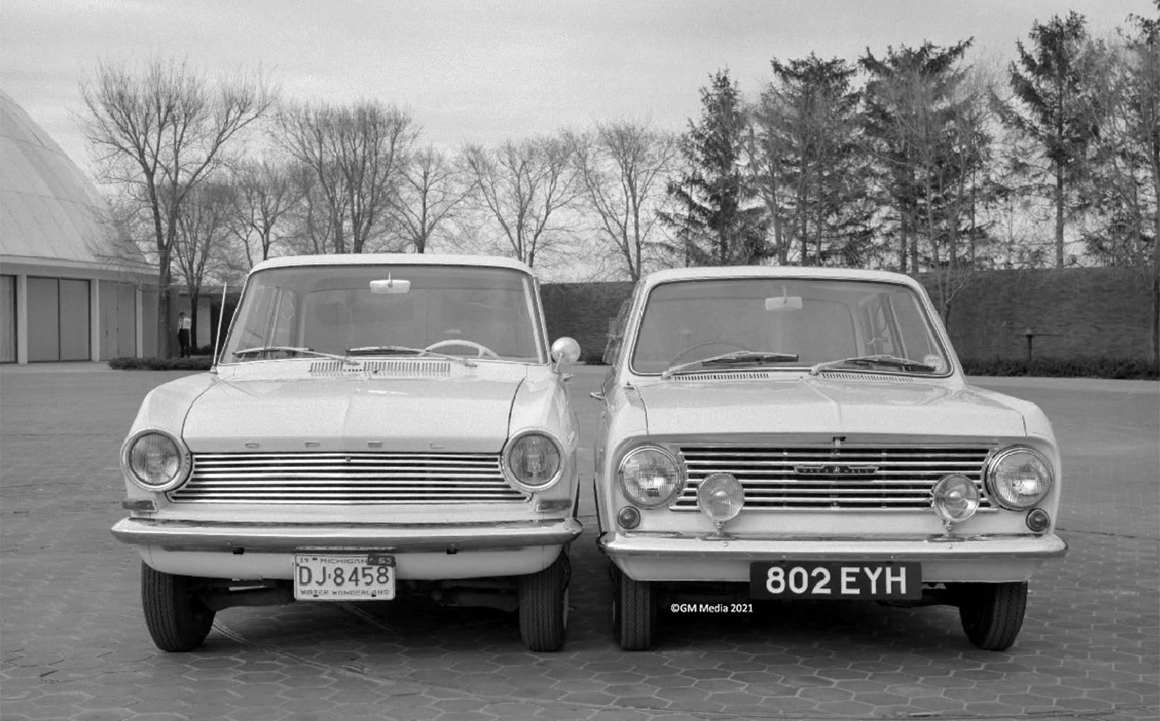 1963 Opel Kadett and 1964 Vauxhall Viva
