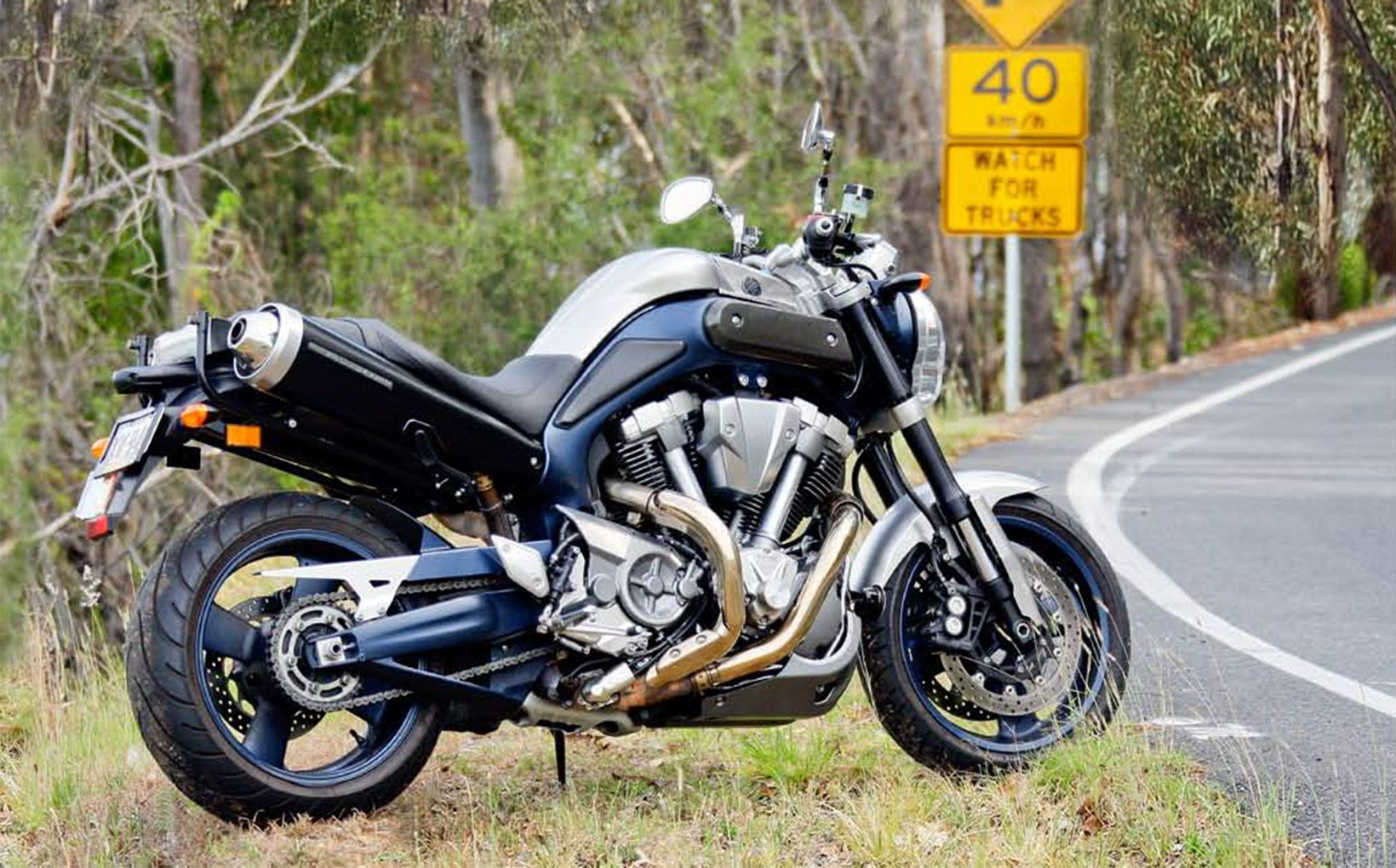 QUIKSPIN: Yamaha MT-01 – Some Kind of Monster - Shannons Club