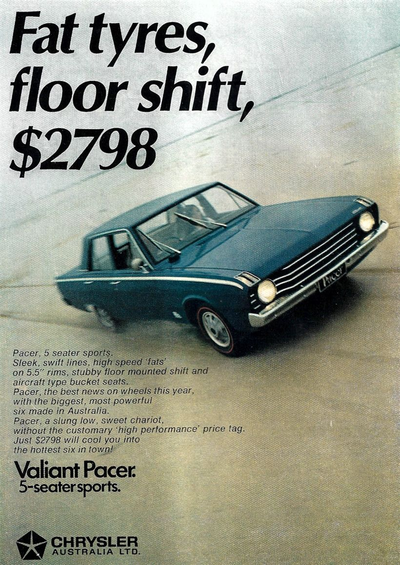 1969 70 Chrysler Vf Valiant Beautiful Beast Or Endangered Species Pacer Light Bar Wiring Diagram There Was A Time When Never Had To Sell Valiants On Price So Were Some Who Felt The Pacers Packaging And Sales Pitch Went Too Far